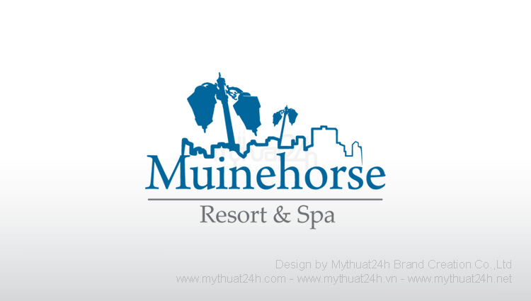 Thiết kế logo MuineHorse Resort & Spa