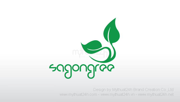 Thiết kế logo Mỹ phẩm Saigongree