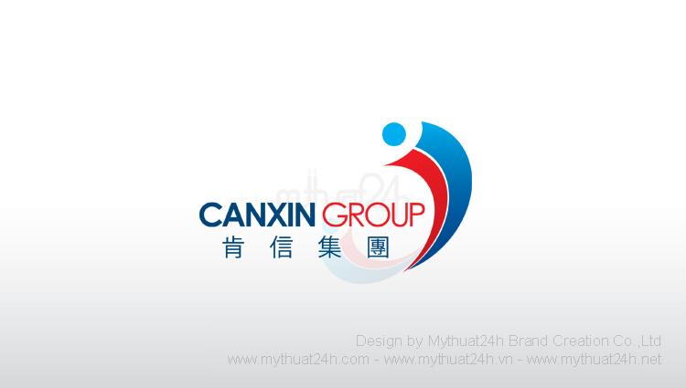 Thiết kế logo Canxin Group - Cty TNHH DV Vận Tải Khẳng Tín