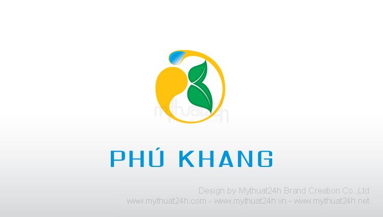 Thiết kế logo Công ty Cổ Phần Bảo Vệ Thực Vật Phú Khang