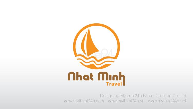 Thiết kế logo Công ty Cổ Phần Du Lịch Nhật Minh