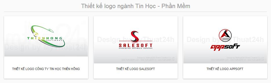 Thiết kế logo ngành Tin Học - Phần Mềm