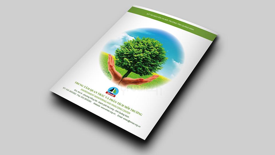 Thiết kế profile Trung Tâm Quan Trắc & Phân Tích Môi Trường Quảng Ninh
