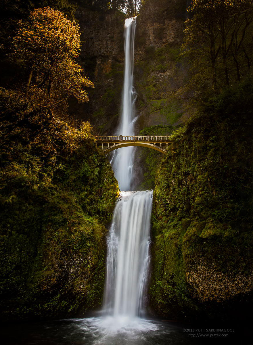 5 Multnomah Falls, Oregon, Usa