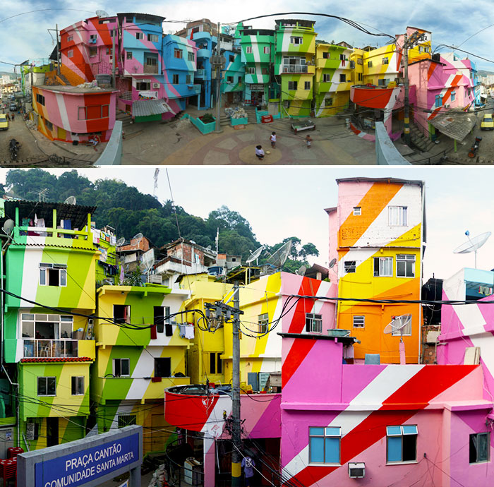 Santa Marta, Rio De Janeiro, Brazil