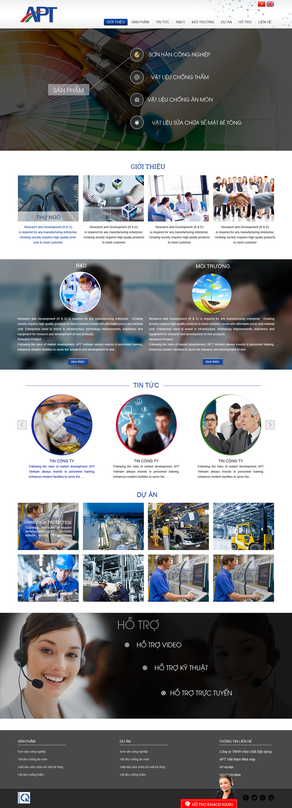Thiết kế website APT