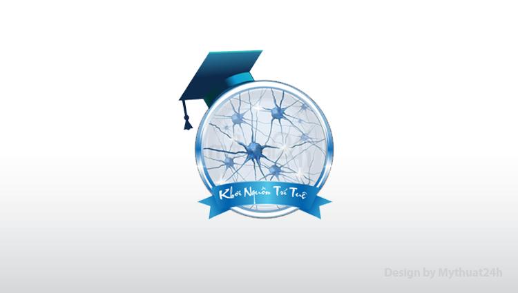 Thiết kế logo Trường Học Khơi Nguồn Trí uệ