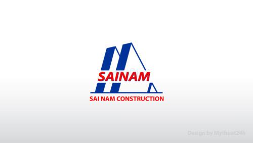 Thiết kế logo Công ty CP Xây dựng Sài Nam