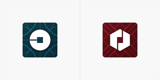 thiet ke logo uber
